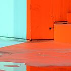 Paint and water reflection  by areyarey