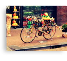 Amsterdam Bicycle Canvas Print