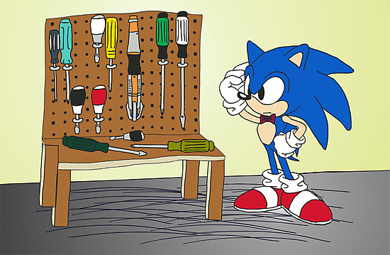 Sonic's Screwdrivers by pixhunter