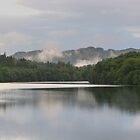 Faskally Loch by Sandra Caven