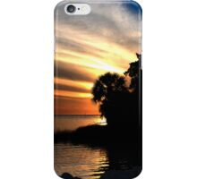Sunset at Bayport Park iPhone Case/Skin