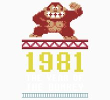 Donkey Kong Gamer tshirt Kids Clothes