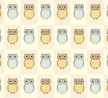 Many Owls by Jean Gregory  Evans