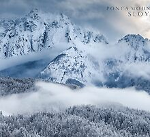 Ponca Mountains, Slovenia by Curtis Budden