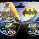 Looking At Gotham by WildestArt