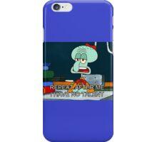 squidward iPhone Case/Skin