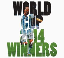 Argentina World Cup 2014 Winners by Krull