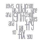 (Shiny) Fix You by Brooklynn Greene
