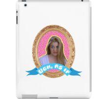 Cher Horowitz Frame iPad Case/Skin