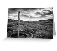 Willow Springs Station Greeting Card