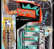 life fights for light by arteology