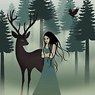My deer friend by franzi