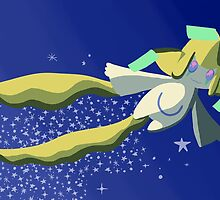 Jirachi, the Wish Maker by grunesgryphon