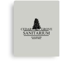 Cedar Grove Sanitarium  Canvas Print