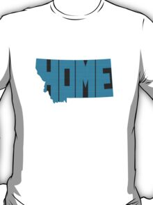 Montana HOME state design T-Shirt