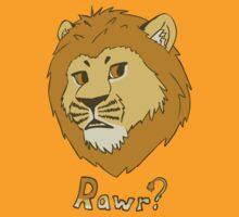 Rawr?  -  Lion by Kai-L