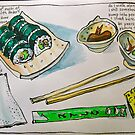 North Hobart Sushi by Evelyn Bach