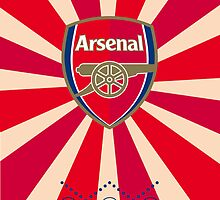 Arsenal FC iPhone Case by ecimino