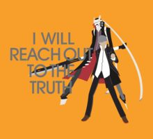 I Will Reach Out to the Truth by 1PlayerDesigns