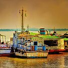 Yangon Harbour 2 by wallarooimages