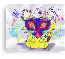 Majora Pikachu Canvas Print