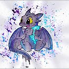 Toothless the dragon by littlemissfox
