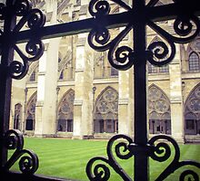 Westminster Abbey as you don't usually see her by visualimagery