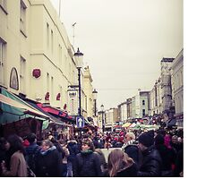 London's Portobello Road market comes to life by visualimagery