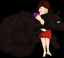 Hugging a lycan by Furiarossa