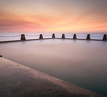 Cal Tidal Pool Sunrise by Vivekb