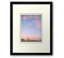 Dusty Sky Framed Print