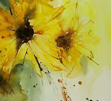 sunflowers1 by annemiek groenhout