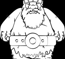 Wikinger, viking, olaf, bart, beard, danger, bellt, gürtel, cap, hat, grim, grimly, big,  fat, strong, helm, helmet, nordisch, north, horn by littleicebear22