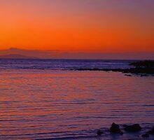Ecuador. Galapagos Islands. Santa Cruz Island. Sunrise. by vadim19