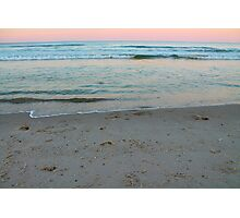 Sand and Waves  Photographic Print