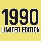 1990 LIMITED EDITION by mcdba