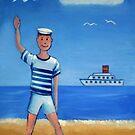 the young sailor by Kostas Koutsoukanidis