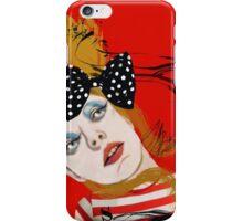 Scarlet Sings iPhone Case/Skin