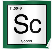 Sc for Soccer Element tshirt for Soccer fans Poster
