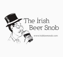Irish Beer Snob Black by irishbeersnob