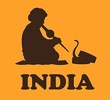 India Snake Charmer t-shirt by tshirtbaba