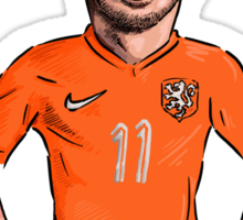Robben Sticker