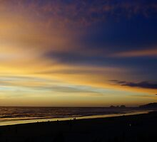 Cape Lookout at Sunset #2 by AmishElectricCo