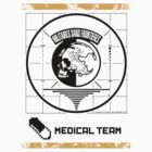 Metal Gear Solid MSF Medical Team Shirt by Tgarncarz