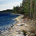 Slate Islands Provincial Park NW Ontario by Laura Lea Comeau
