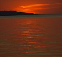Burnt Orange Sunset by cbeers5009