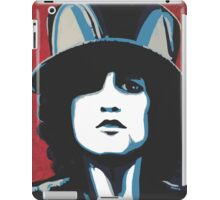Marc Bolan ain't no square with his corkscrew hair iPad Case/Skin