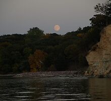 Nebraska Bluffs by Moonlight by cbeers5009
