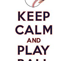Keep Calm and Play Ball - Detroit by canossagraphics
