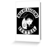 Men of Alchemy - Central (Patch) Greeting Card
